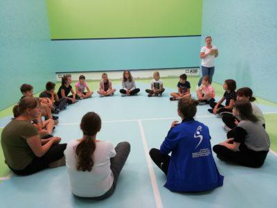 Nauka gry w squasha
